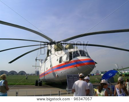 Mi-26T helicopter