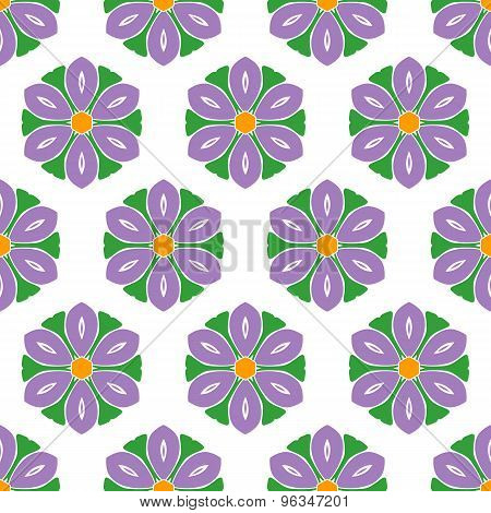 Cute Abstract Flower Feminine Pattern Textiles
