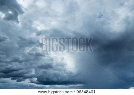Rain clouds Or Nimbus In Rainy Season