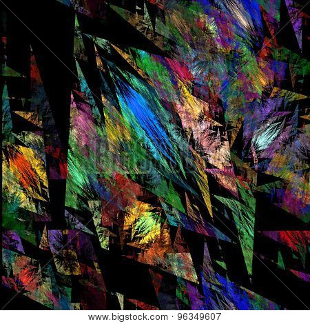 Abstract multicolor light background