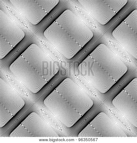 Design Seamless Square Diamond Pattern