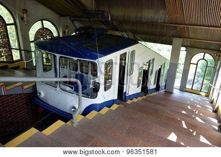 Cable railway in Kiev
