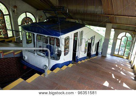Cable railway in Kiev