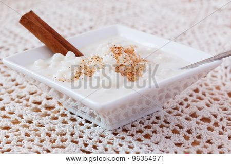 Brazilian Dessert Canjica Of White Corn