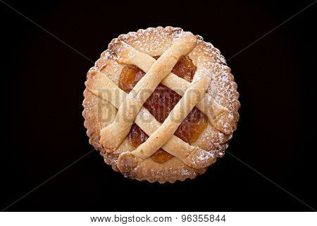 Short Pastry Tartlet With Marmalade.