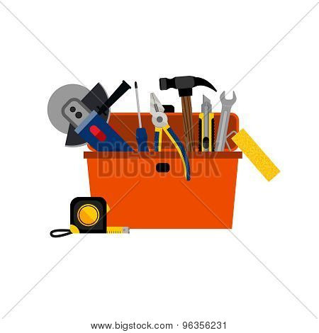 Toolbox for DIY house repair