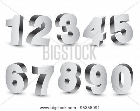 Three-dimensional Numbers