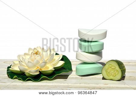 Milky Soaps And Cucumber