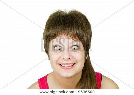 Girl With Insane Eyes