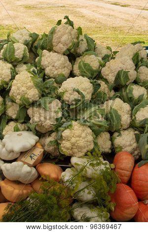 Cauliflower And Pattinson At The Farmers Market