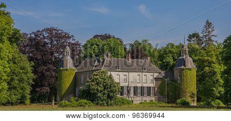 Panorama Of Castle Hackfort Near Vorden In Gelderland