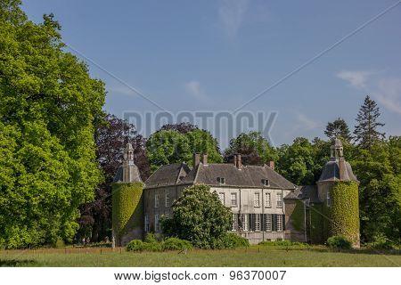 Castle Hackfort Near Vorden In Gelderland
