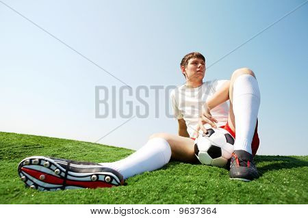 Relaxing Sportsman