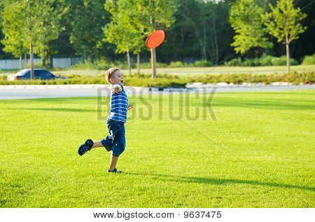 Boy Throwing