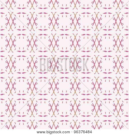 Seamless pattern with abstract mediumvioletred elements.