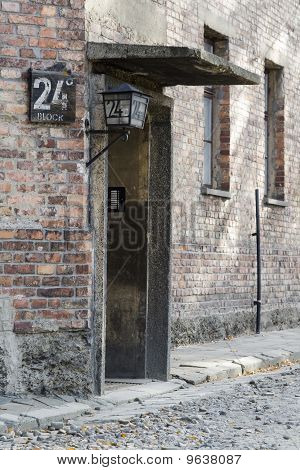 Auschwitz Concentration Camp - 24 Block Whorehause