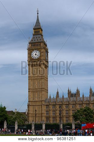 Big Ben Clock Tower And Parliament