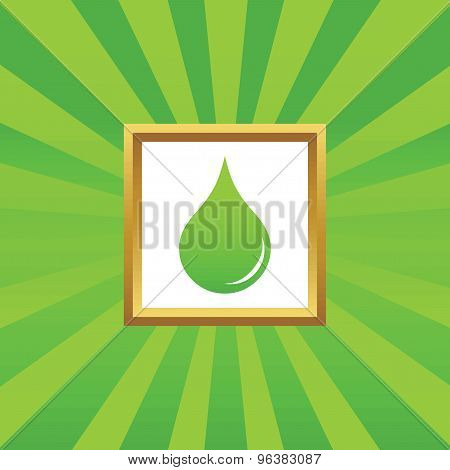 Water drop picture icon