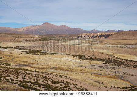 Landscape of the Altiplano