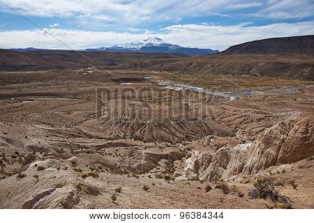 Rock Formations on the Chilean Altiplano
