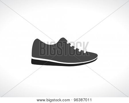 sneakers running shoes black icon