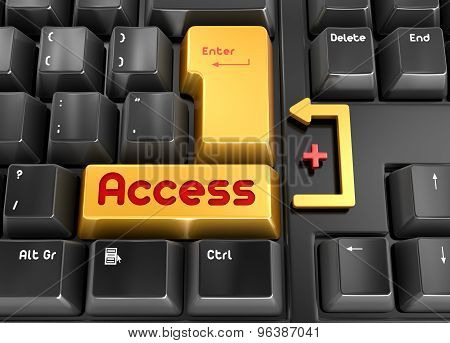 Access Button