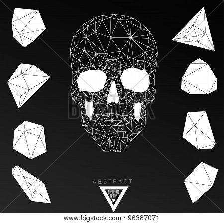 Dark Graveyard Background