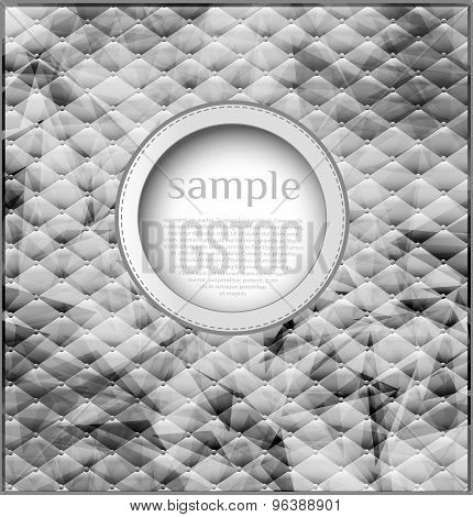 abstract vintage background with bubble