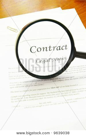 Legal Contract