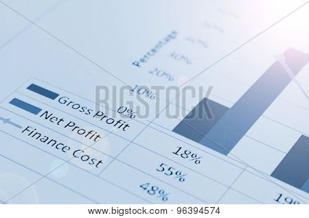Colorful Graphs, Charts, Marketing. Business Concept.
