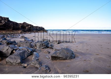 Dry Lava Coast Beach