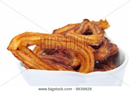 Churros, Typical Spanish Sweet