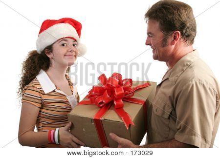 Christmas Gift Receiving