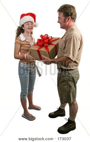 Receiving A Gift 1
