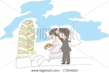 Hochzeit-Geschichte