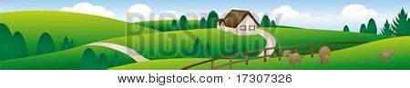 Beautiful Landscape Banner