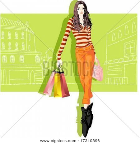 Woman's Fashion and Shopping