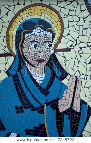 Virgin Mary Mosaic