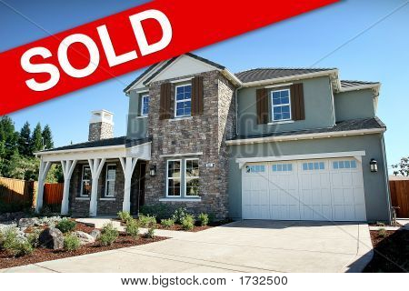 Large Modern Home Sold