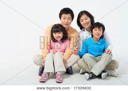 Familia encantadora
