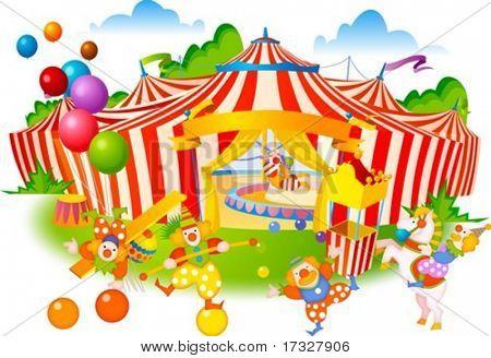 Circo y Pierrot