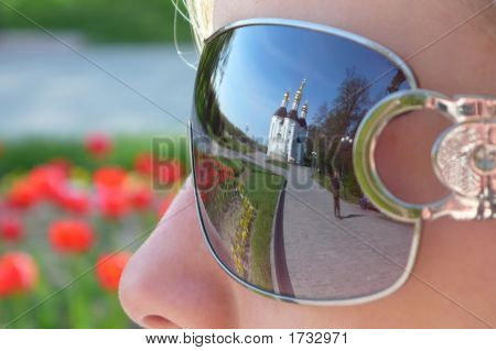Reflection In Sunglasseses.