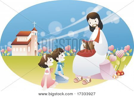 Jesus Christ and the Children