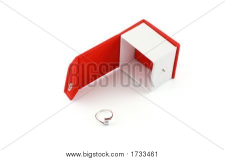 Ring By A Red Box