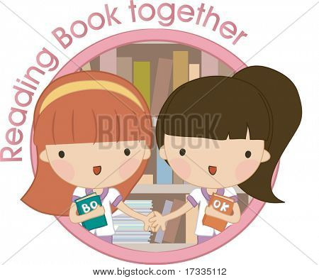 Reading Book Together