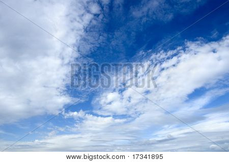 fundo do céu (especial foto f/x, o ponto de foco no centro da imagem)