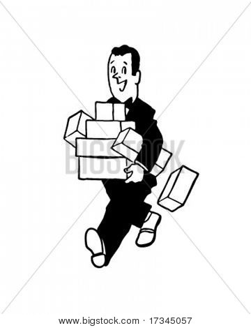 Bearing Gifts - Man With Presents