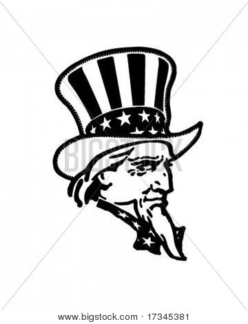 Uncle Sam - Retro illustraties