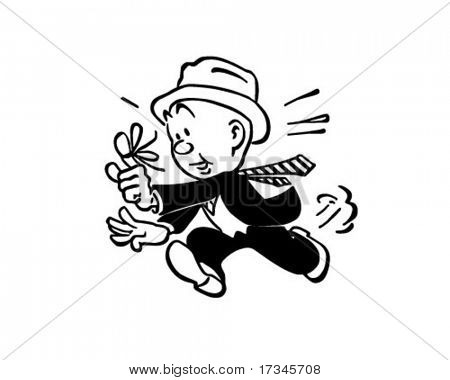 Trying To Remember - Man Running With String Tied Around Finger