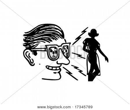 Xray Specs - Retro Clip Art